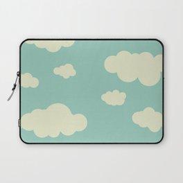vintage clouds Laptop Sleeve
