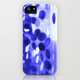 GLAM CIRCLES #Blue #2 iPhone Case
