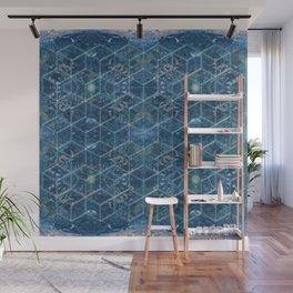 Crystal Geometry Wall Mural