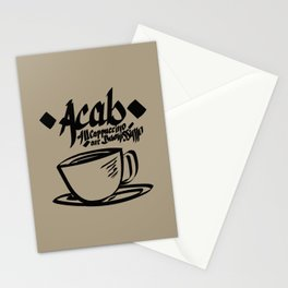 ACAB! AllCappuccinoAreBuonissimo!  Stationery Cards
