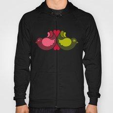 Olive Rosebirds Hoody
