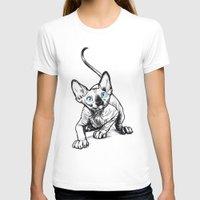 sphynx T-shirts featuring Sphynx by Sara (aka Wisney)