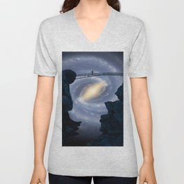 Bridge from yonder Unisex V-Neck