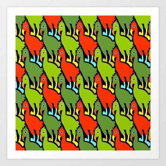 Dodos Art Print