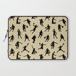 Basketball Players // Tan Laptop Sleeve