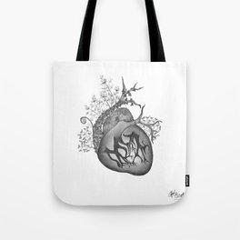 RADIOHEAD HEART Tote Bag