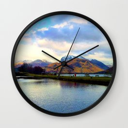 Four Seasons in One Day over Ben Nevis Wall Clock