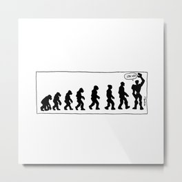 Evolution Modulor Metal Print