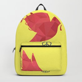 Dove and Peace Signs Backpack