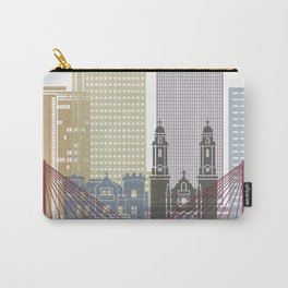 Omaha skyline poster Carry-All Pouch