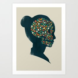 We are made of stardust Art Print