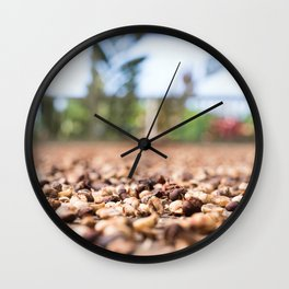 Coffee Plantation 1 Wall Clock
