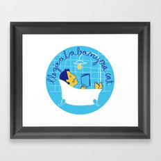 llegiralabanyera.cat Framed Art Print