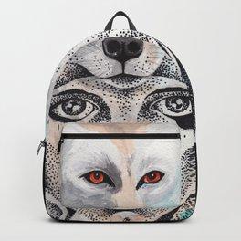 wolf girl Backpack