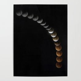 Super Blue Blood Moon Poster