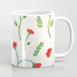Lush Poppies Coffee Mug