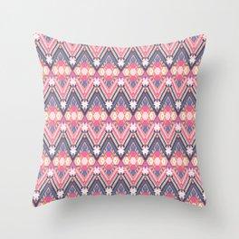 Cotton Candy Field Throw Pillow