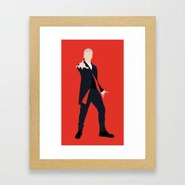 12th Doctor Peter Capaldi Framed Art Print