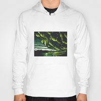 northern lights Hoodies featuring Northern Lights  by Joey Bareither