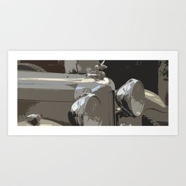 Mille Miglia No.91 Art Print
