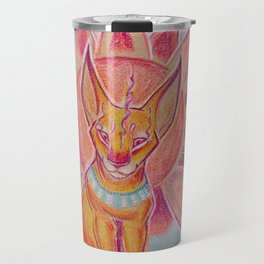 Mandala Caracal Travel Mug