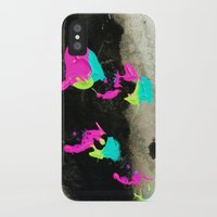 firefly iPhone & iPod Cases featuring Firefly by Shy Neon