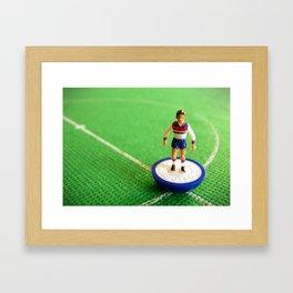 England Subbuteo Player 1982 Framed Art Print