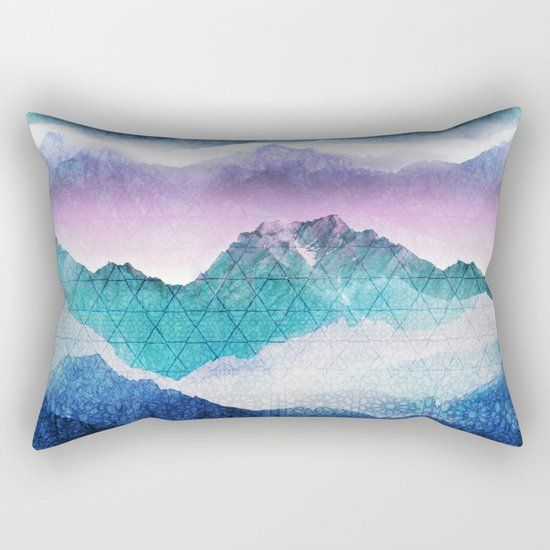 Mountain Dreamscape Rectangular Pillow