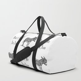 Don't Be an Ass Duffle Bag