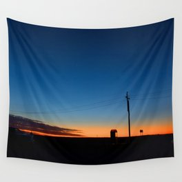 Outback sunset Wall Tapestry