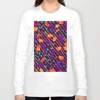 psychadelic Long Sleeve T-shirts featuring Psychadelic Natural Pattern #5 by Andrej Balaz