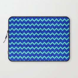 Chevron Glitter Pattern 06 Laptop Sleeve