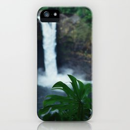 Hawaii Falls iPhone Case