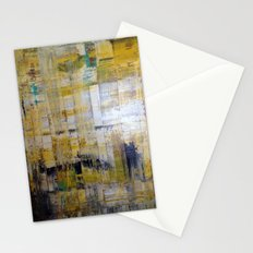 YELLOW SCRAPE Stationery Cards
