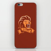 gryffindor iPhone & iPod Skins featuring Lions Gryffindor by Fresco Umbiatore