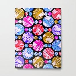 C13D baubles n beads Metal Print