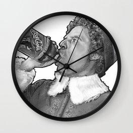 Buddy the Elf Wall Clock