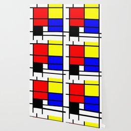 Mondrianista Wallpaper