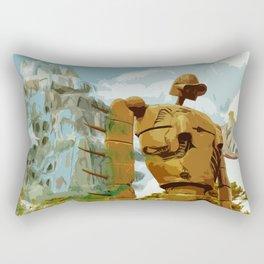 Castle in the Sky * El Castillo en el cielo * Ghibli Inspiration Rectangular Pillow