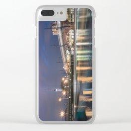 Berlin Jannowitzbrücke Clear iPhone Case