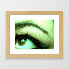 Eyeliner Framed Art Print