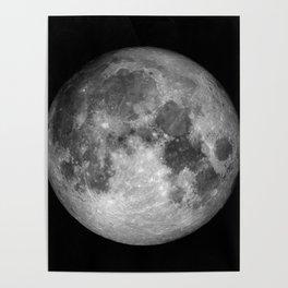 Moon Full Poster