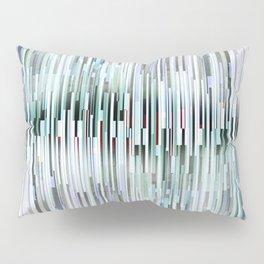 rip in the digital fabric Pillow Sham