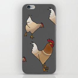 Chick chick, chichen iPhone Skin