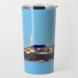 Tourelle on the Edge of the Sea Travel Mug