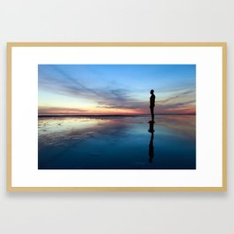 Another Place, Crosby Beach Framed Art Print