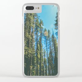 Follow the Forest Clear iPhone Case