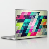 spires Laptop & iPad Skins featuring Cyrvynne xyx by Spires