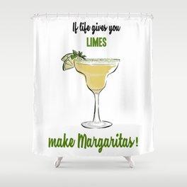 Margaritas Shower Curtain