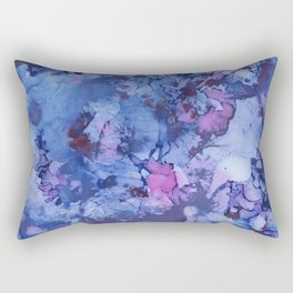 Abstract Alcohol Ink Painting 3 Rectangular Pillow